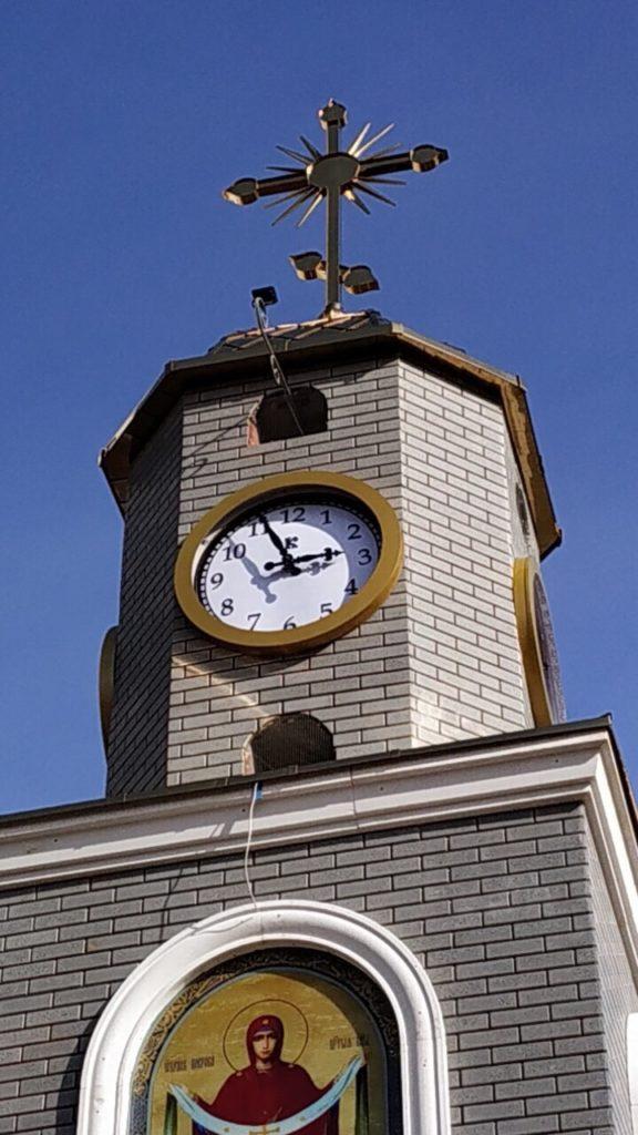 Башенные часы для церкви купить цена