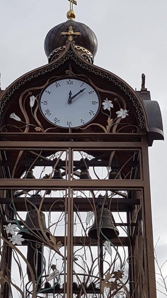 Башенные фасадные уличные часы куранты купить цена минск